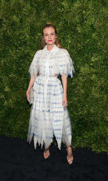 November 17: Diane Kruger attended the 8th annual Museum of Modern Art Film Benefit Honoring Cate Blanchett in New York City. 