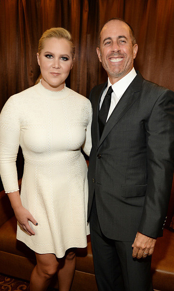 November 17: Jerry Seinfeld and Amy Schumer had the crowd cracking up  at Baby Buggy's 15th anniversary celebration at the Beacon Theatre in New York City.