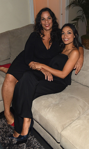 "November 17: Mother and daughter bonding time! Rosario Dawson and her mother Isabel Celeste celebrated their Cuban roots with ""A Evening in Havana"" sponsored by Airbnb in New York City.