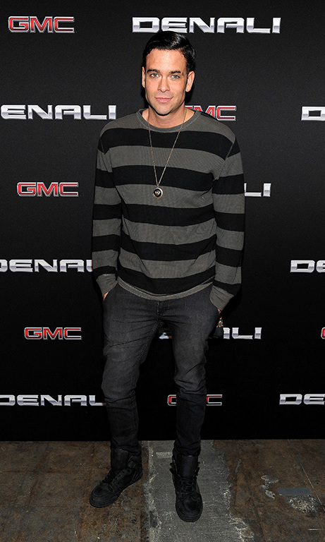 November 17: He likes his trucks! 'Glee' hottie Mark Salling attended the Global Debut of the 2017 GMC Canyon Denali in West Hollywood. 