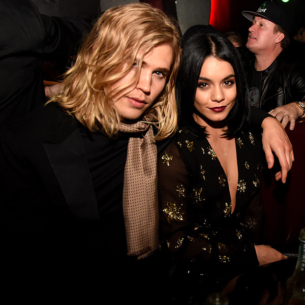 November 17: Date night! Vanessa Hudgens and Austin Butler supported the grand re-launch of Viper Room sponsored by 50 Bleu in West Hollywood. 