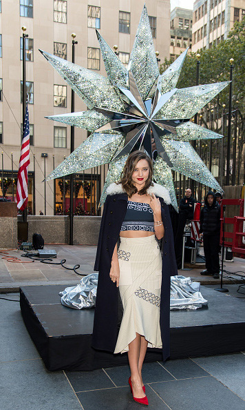 November 16: Shine bright like a diamond! Miranda Kerr attended the Swarovski Star Rising for the 2015 Rockefeller Center Christmas Tree in New York City. 