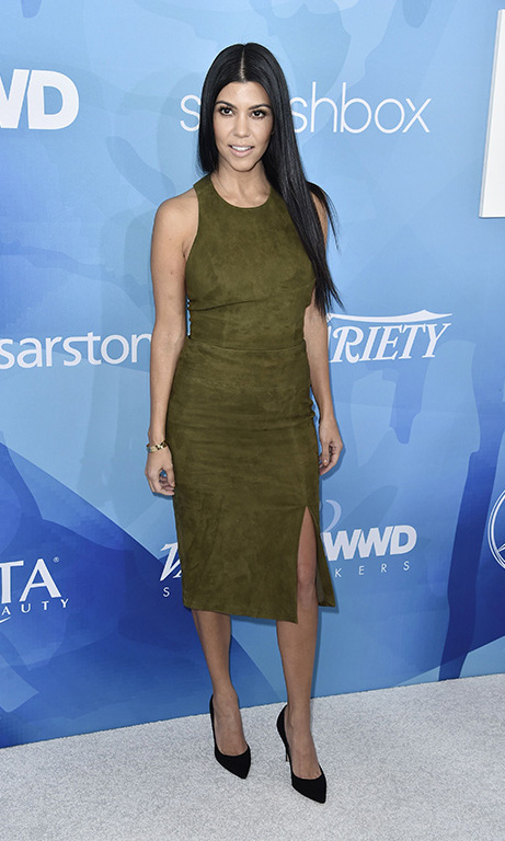 November 19: All glam, all the time! Kourtney Kardashian worked the carpet at the first annual Variety & WWD StyleMakers luncheon presented by Smashbox Cosmetics in Culver City, California. 