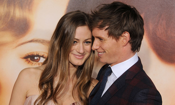 November 21: It was also date night for Oscar winner Eddie Redmayne, who snuggled up to wife Hannah on the red carpet. 