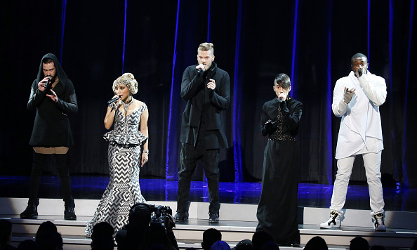 The force was strong with Pentatonix, who performed a tribute to 'Star Wars' by singing the legendary musical score accompanied by a full orchestra.