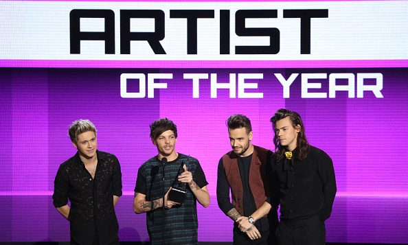 The only way is up for One Direction, who took home the award for Artist of the Year.