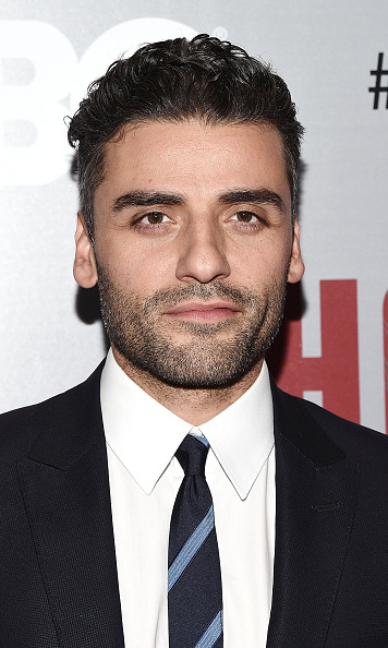 Oscar Isaac flies into the film playing Resistance pilot Poe Dameron. The 36-year-old, who pilots an X-wing in the upcoming movie, is no stranger to the big screen. The Guatemalan actor has previously starred in 'A Most Violent Year' alongside Jessica Chastain.