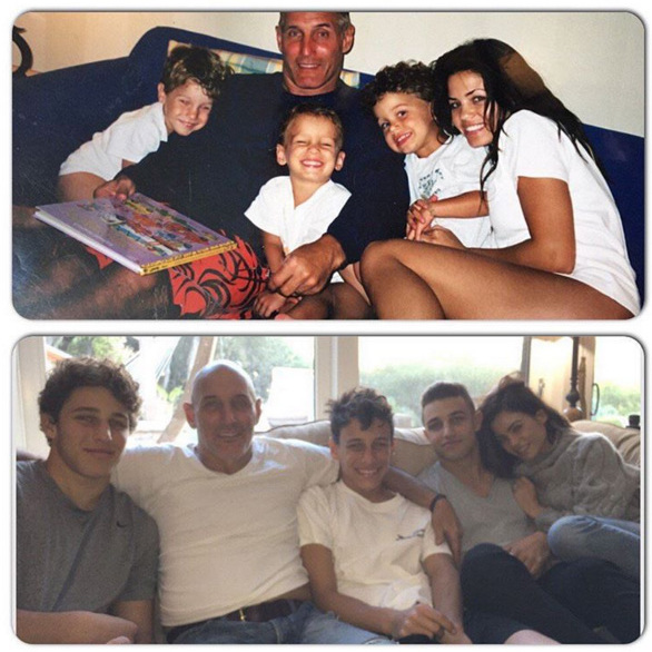 "Such a cute Thanksgiving throwback. Jenna Dewan-Tatum recreated an adorable Thanksgiving picture with her brothers and dad. ""Happy thanksgiving everyone!!!!!! We spent the day with my dad and little brothers:) 10 years ago and now""