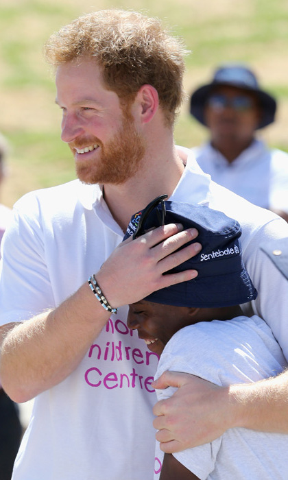 After starting their friendship in 2004, during his first visit to Lesotho, Prince Harry was reunited with his friend Mutsu Potsane. Harry was said to be 'thrilled' to see the teenager, who he often exchanges letters with.