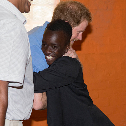 Prince Harry also stopped by the  Ottery Youth Centre, a rehabilitation center for children linked to gang related crimes during his time in Cape Town.
