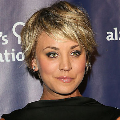 If you're growing out a pixie cut into a bob, follow Kaley's lead and head to the salon to add some layers in – this will make it much easier to style, plus when worn down, you can add a lot more volume without needing too much product.<br>