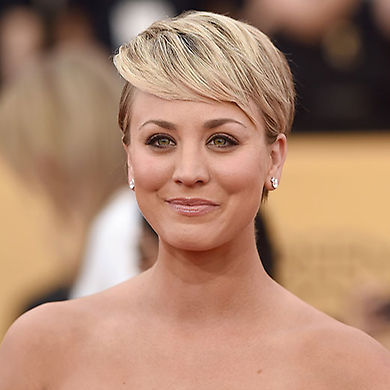 An undercut makes a bold statement, but if you're looking to soften it up, recreate Kaley's look at the SAG awards by sweeping your longer locks into a side fringe – use straighteners to smooth it down and create a smooth finish.<br>