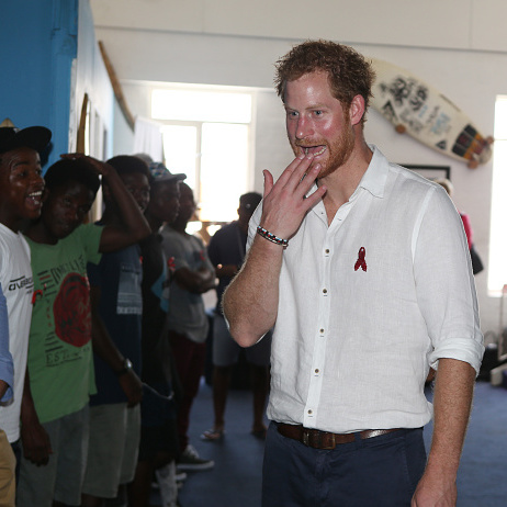 Another day, another city on Prince Harry's royal tour. The royal visited the 'Surfers Not Street Children' house in Durban that teaches the children to become independent and successful young adults and ambassadors that will inspire others.