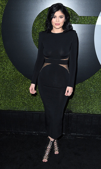 December 3: Kylie Jenner wore the perfect LBD during GQ's 20th anniversary 'Men of the Year' party at Chateau Marmont in West Hollywood. 