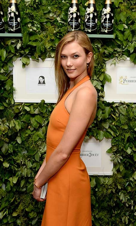 December 2: Camera ready! Karlie Kloss attended the L'Eden by Perrier-Jouet event in Miami.