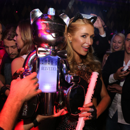 December 4: Hey Ms. DJ put that record on! Paris Hilton made her annual Art Basel DJ appearance at Wall Miami presented by Belvedere. 