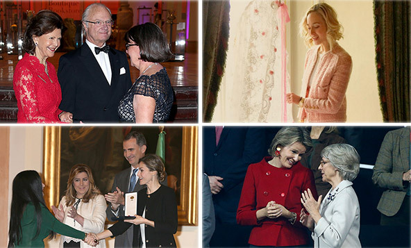 Such a busy week especially for Queen Letizia of Spain who attended seminars on nutrition and took part in award ceremonies on what seemed like a daily basis.<br>