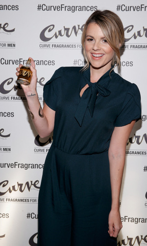 December 3: Ali Fedotowsky got in the game hosting Curve Fragrances For Men Trivia Night at Tortilla Flats in New York City. 