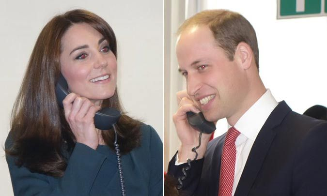 Prince William And Kate Middleton Become Brokers For A Day At Icap