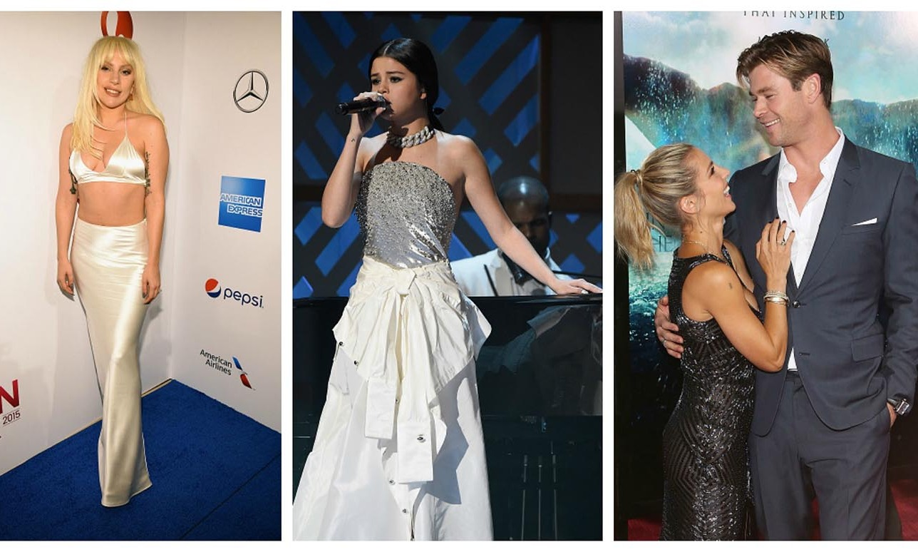 The celebs are turning up the heat this holiday season! Lady Gaga and Selena Gomez dazzled at the Billboard Women in Music ceremony. Chris Hemsworth prepared to take on 'Saturday Night Live,' while giving back, during his trip to NYC. Chrissy Teigen and her girls were festive with Target and so much more.