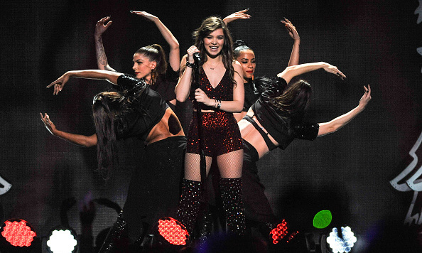 "December 11: After her energetic performance, 'True Grit' star Hailee, who turned 19 that day, said on Twitter: ""I spent my 19th birthday on stage in Madison Square Garden. What."""