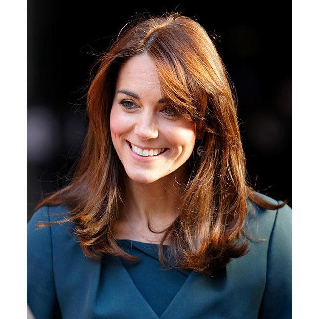 The Duchess caused a social media frenzy when she unveiled a stunning new haircut as she joined Prince William for the ICAP charity day, embracing the shorter hair trend with a few inches chopped off her locks, leaving the length falling just below her shoulders.