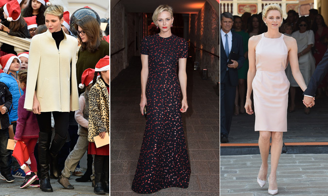 <B>PRINCESS CHARLENE OF MONACO </B>