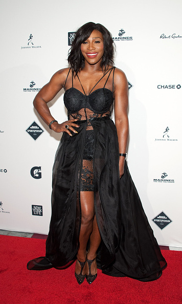 December 15: Tennis champion Serena Williams hit a grand slam on the red carpet at the Sports Illustrated's Sportsperson of the Year ceremony held at Pier 60 in New York City. 