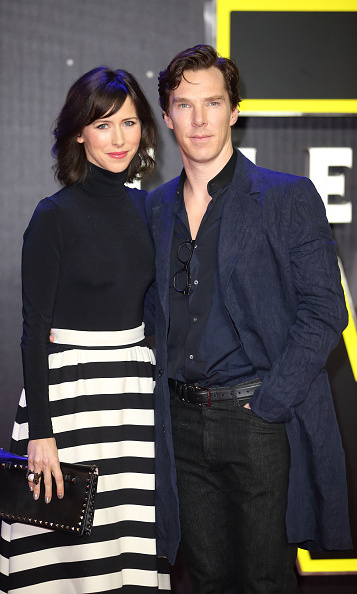 December 16: New parents Sophie Hunter and Benedict Cumberbatch sneaked away for a date night to attend the London premiere of 'Star Wars: The Force Awakens' in Leicester Square.
