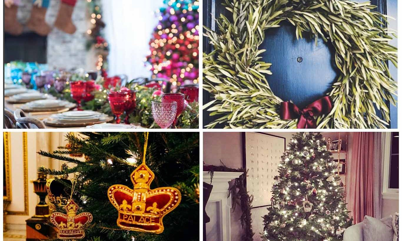 With Christmas around the corner, celebrities are sharing their lavish holiday decor. From Jessica Simpson's colorful tree to Julianne Hough's handcrafted ornaments, here is a look at some of the best celeb holiday decorations. 