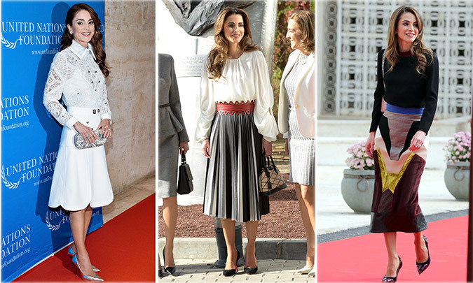 <b>QUEEN RANIA OF JORDAN</b>