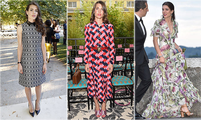 <b>CHARLOTTE CASIRAGHI OF MONACO</b>