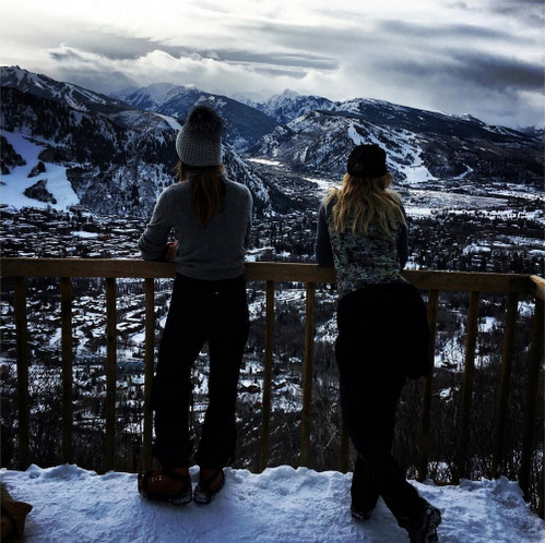 "It's ""always good to be home."" Kate Hudson shared a snap from her afternoon hike in Aspen.