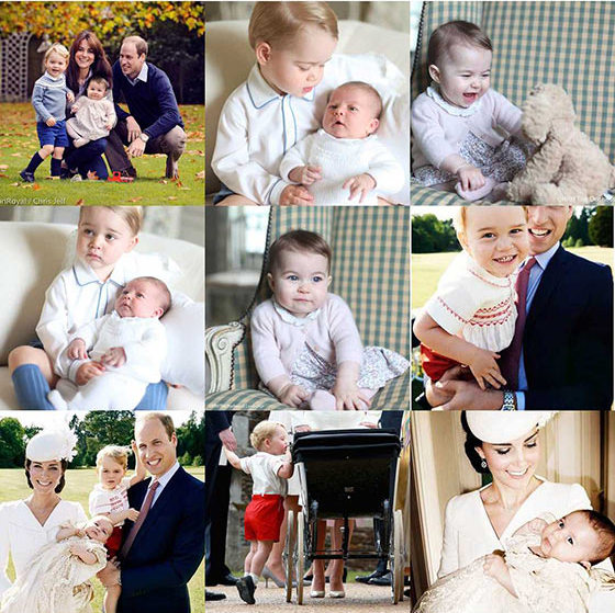 Kensington Royal's Instagram is full of adorable pictures of our fave British royals. We can't get enough of Prince George and Princess Charlotte!