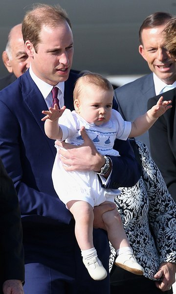 William kept a strong hold on his son upon their arrival in Australia.