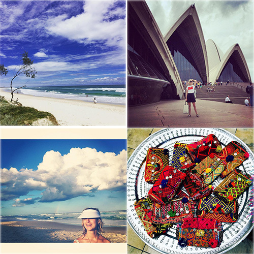 Princess Elizabeth Von Thurn Und Taxis posted this whole series of snaps from her time in Australia, hash-tagging them #adventuresdownunder.