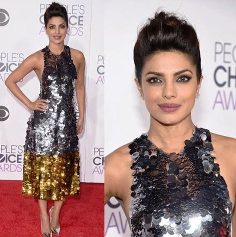 Priyanka chopra get the stars winning hairstyle from the peoples well now you can recreate it for yourself hello spoke to priyankas hairstylist castillo who has given us a step by step guide of how to create the solutioingenieria Image collections