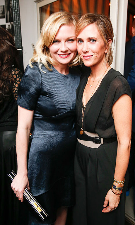 January 7: Ksquared! Kirsten Dunst and Kristen Wigg enjoyed girls' night out at W Magazine and Dom Pérignon's celebration of the 73rd annual Golden Globes event at Chateau Marmont in West Hollywood. 