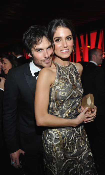 Ian Somerhalder and Nikki Reed enjoyed their date night at one of the after parties.