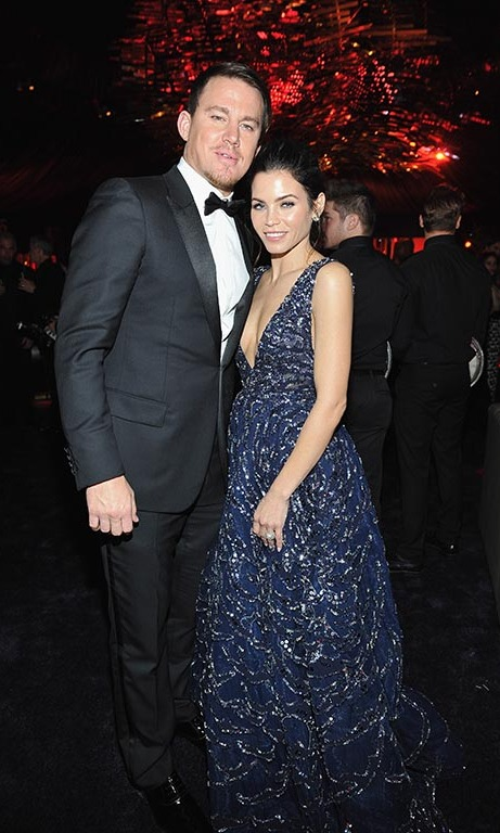 Channing Tatum and Jenna Dewan-Tatum had a fun parents' night out at the InStyle bash.