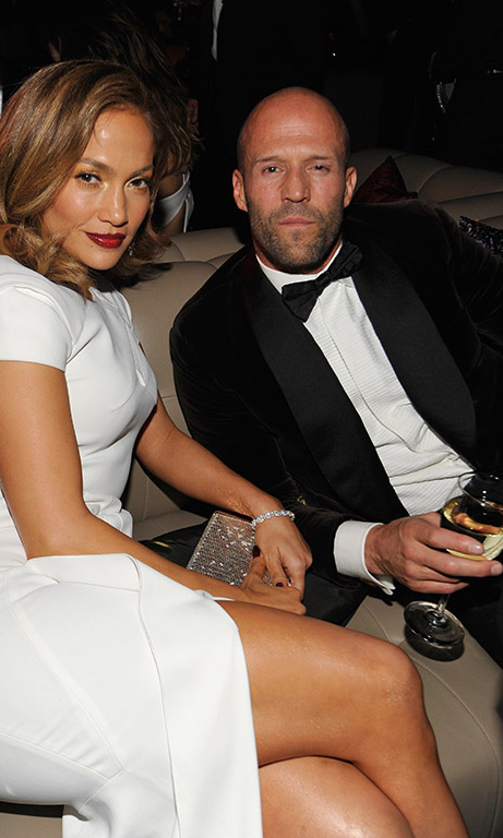 Jennifer Lopez and Jason Statham were a dynamic duo at the star-studded Warner Bros. and InStyle get-together.