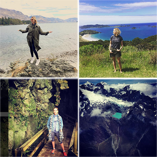 Princess Elizabeth Von Thurn Und Taxis' photos from her tour of New Zealand inspired some serious wanderlust as she tagged them: #kiwilove #hobbitland.
