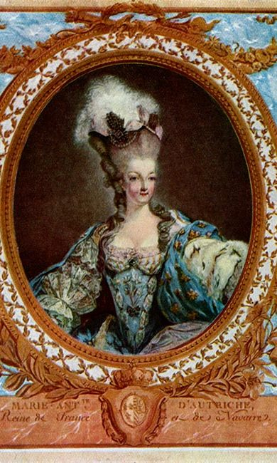 MARIE ANTOINETTE: Be natural