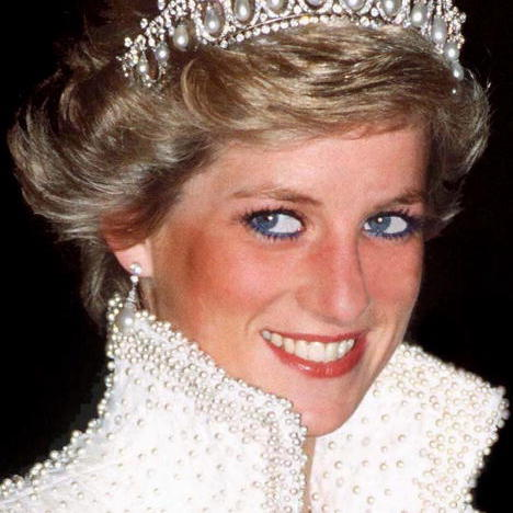 PRINCESS DIANA: The eyes have it