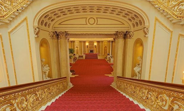An All Access Look Inside Buckingham Palace Thanks To A