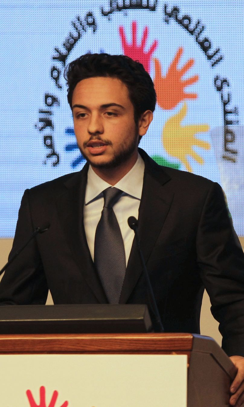 CROWN PRINCE HUSSEIN OF JORDAN