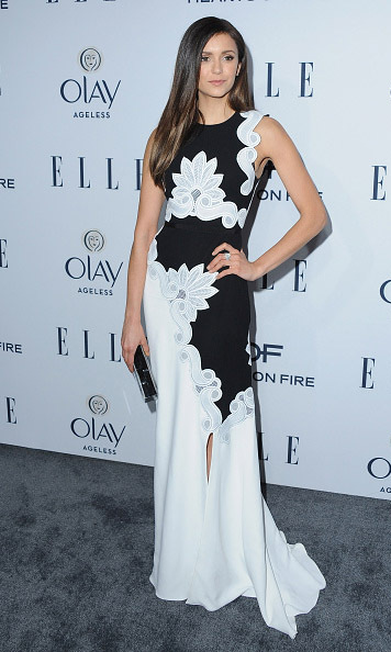 January 20: Pure elegance! Nina Dobrev attended Elle's Women in TV Celebration presented by Hearts on Fire and Olay in West Hollywood. 