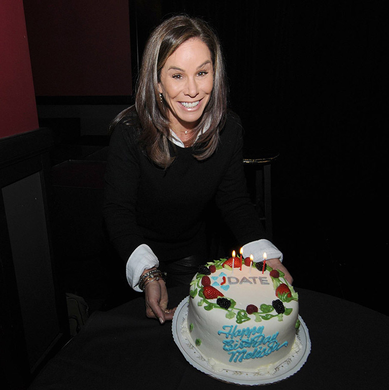 January 20: It's your birthday! 'Fashion Police' host Melissa Rivers celebrated her birthday at JDATE's inaugural #LETSKIBITZ comedy showcase at the Improv Comedy Club in L.A. 