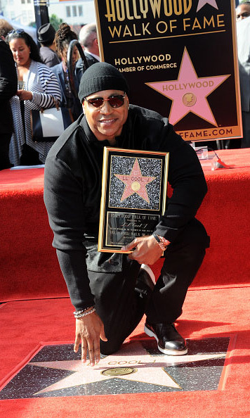 January 19: Hip-Hop royalty! Rapper and 'Lip Sync Battle' host LL Cool J was presented with a star on the Hollywood Walk of Fame. 