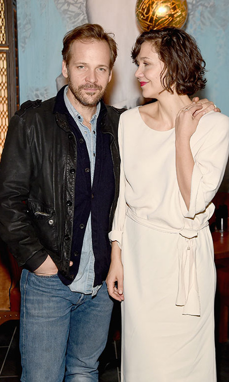 January 15: Date night done right! Maggie Gyllenhaal and Peter Sarsgaard enjoyed an evening out at the grand opening of VANDAL in NYC. 